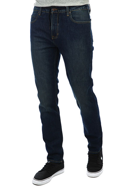 Мужские джинсы узкие Element E02 Dark Used