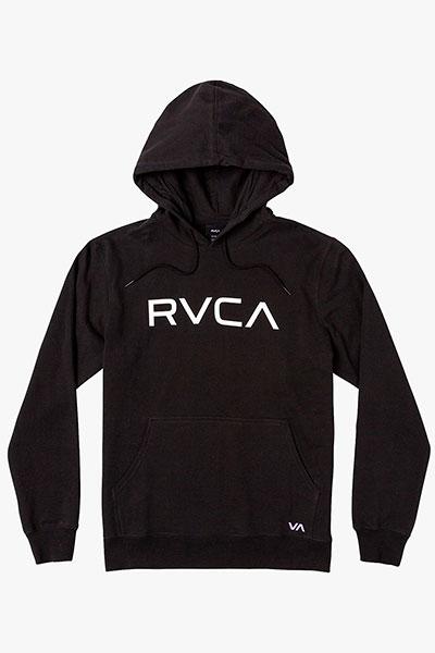 Толстовка кенгуру RVCA Big Rvca Rcy Hood Black