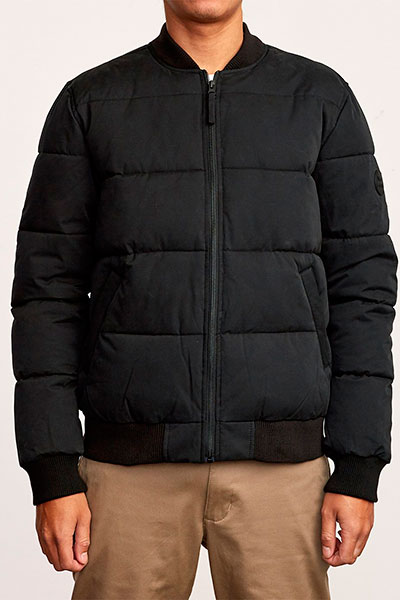 Бомбер RVCA Superior Bomber Black