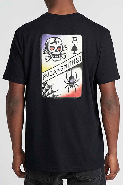 Футболка RVCA Smith Street Black