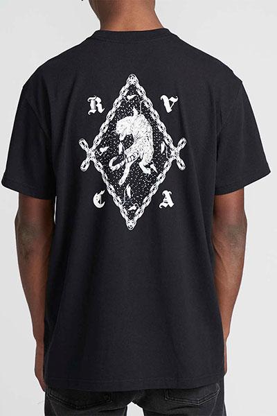 Футболка RVCA Tiger Black