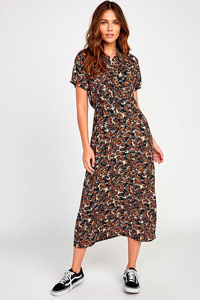 Купить платье женское RVCA Dixie Multi (Q3DRRD-RVF9-1220) в интернет-магазине Proskater.ru