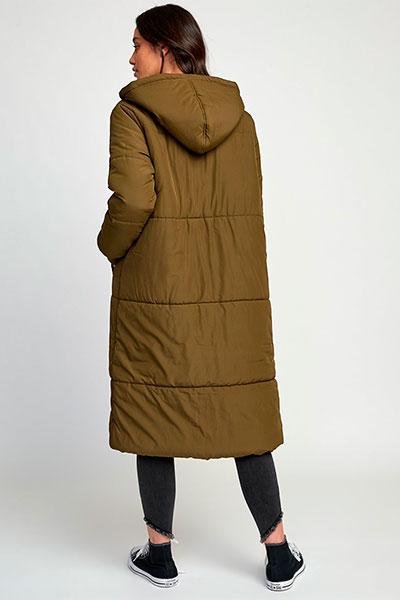 Куртка парка женская RVCA Camper Jacket Army Drab