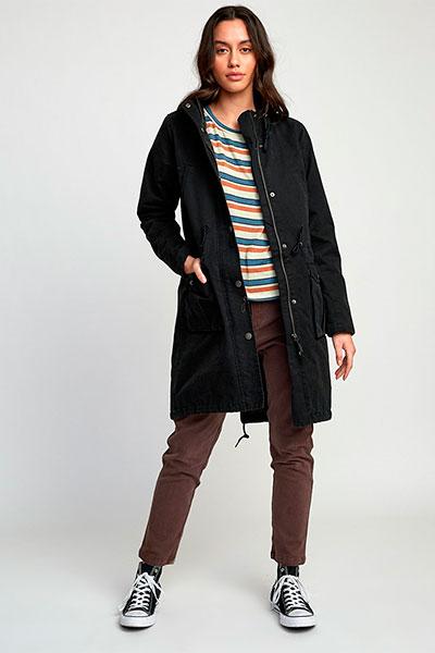 Куртка парка RVCA Managed Jacket Black