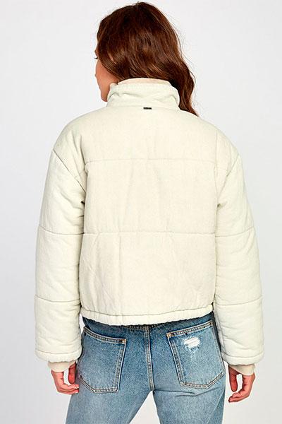 Куртка RVCA Eezeh Puffer Cord Oatmeal