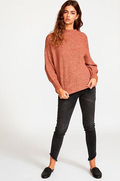 Свитер RVCA Volt Sweater Nutmeg