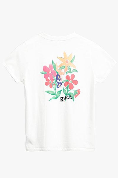 Футболка RVCA Bouquet Ss Antique White