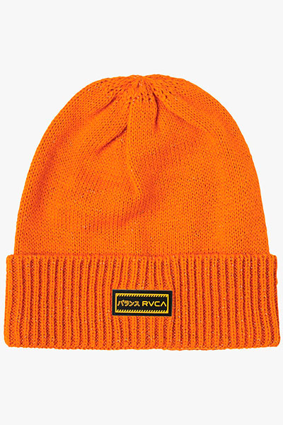 Шапка RVCA Hi Vis Beanie Orange