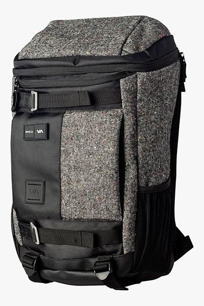 Рюкзак туристический RVCA Voyage Backpack Dx Black/Grey