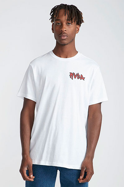Футболка Rvca Monster Pack White