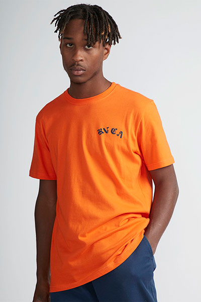 Футболка Rvca Wildcat Bright Orange