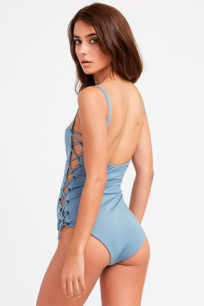 Купальник женский Rvca Beau One Piece Poseidon Blue