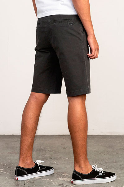 Шорты классические Rvca Daggers Chino Short Pirate Black