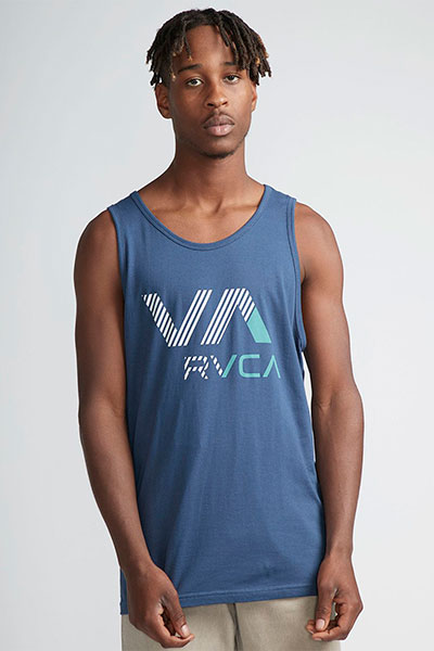 Майка Rvca Va Rvca Tank Seattle Blue