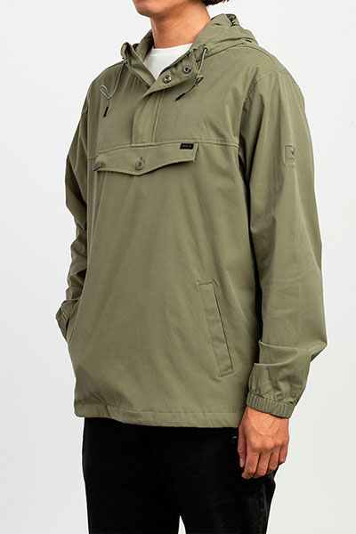 Анорак Rvca On Point Anorak Fatigue