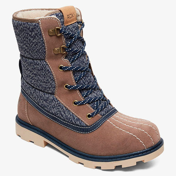 Ботинки ROXY зимние Roxy Nikko J Boot Navy