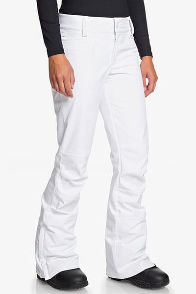 Штаны ROXY сноубордические женские Roxy Creek Bright White-29