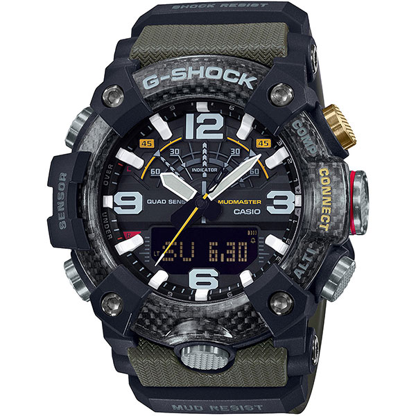 Электронные часы Casio G-Shock Premium Gg-b100-1a3er Black/Green