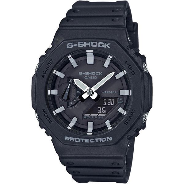 Электронные часы Casio G-Shock Ga-2100-1aer Black