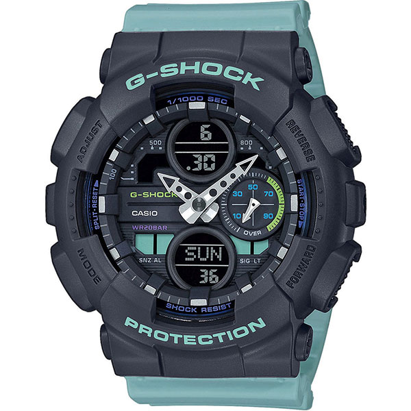 Электронные часы Casio G-Shock Gma-s140-2aer Black/Light Blue