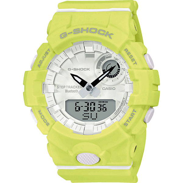 Электронные часы Casio G-Shock Gma-b800-9aer Neon Green