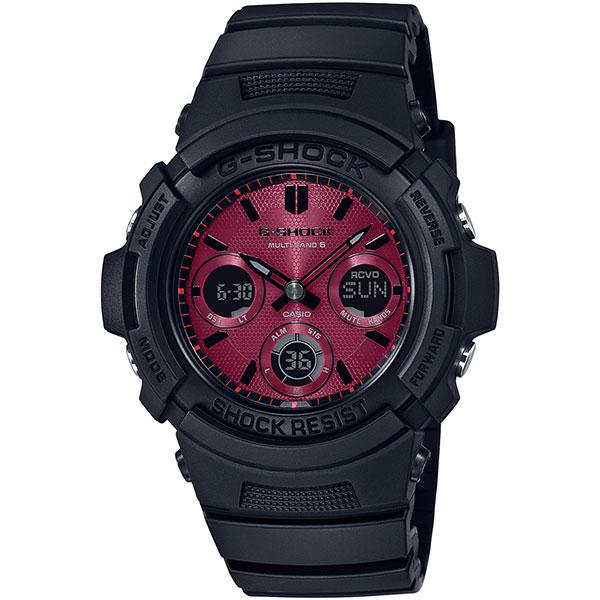 Электронные часы Casio G-Shock Awg-m100sar-1aer Black