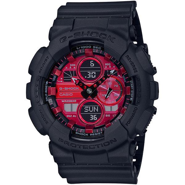Электронные часы Casio G-Shock Ga-140ar-1aer Black
