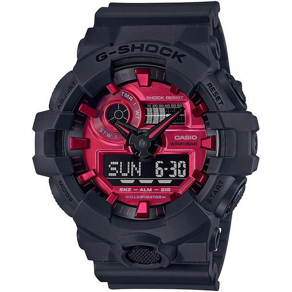 Электронные часы Casio G-Shock Ga-700ar-1aer Black