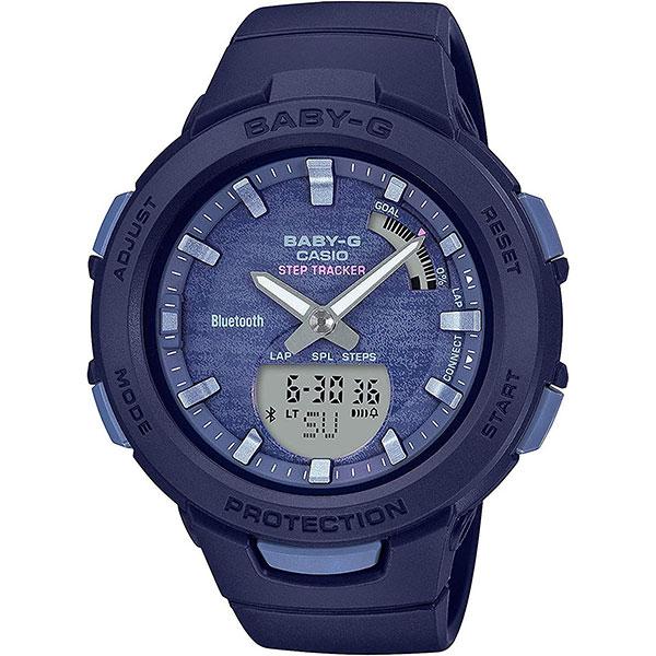 Электронные часы женские Casio Baby-g Bsa-b100ac-2aer Navy