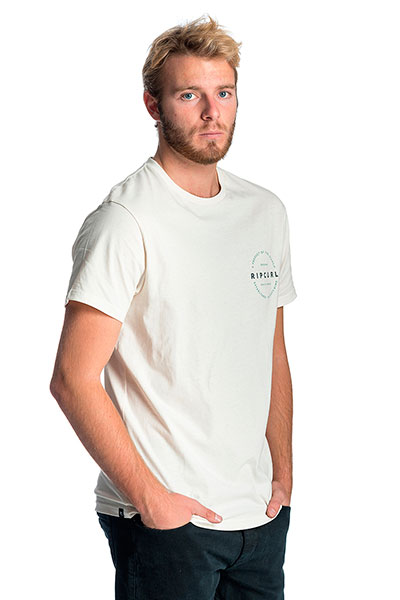 Футболка Rip Curl Authentic S/S Tee Off White