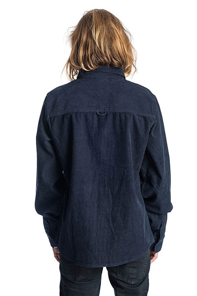 Джинсовая рубашка Rip Curl Rhomb Shirt Dark Blue