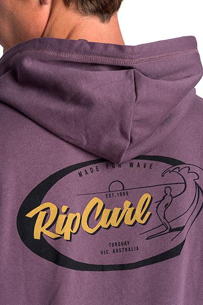 Толстовка классическая Rip Curl On Da Gun Fleece Purple