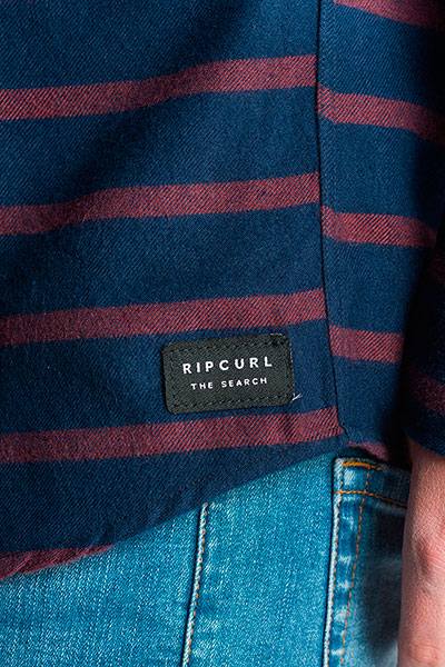 Рубашка Rip Curl Stroked Vc L/S Shirt Navy