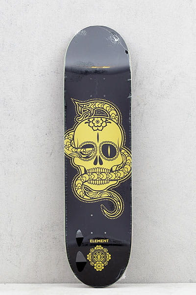 Дека для скейтборда Element Calavera Black Gold Assorted
