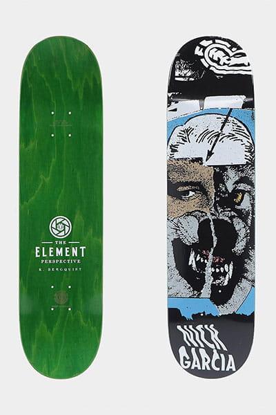 "Дека для скейтборда Element Bergy Garcia 8"" Assorted"