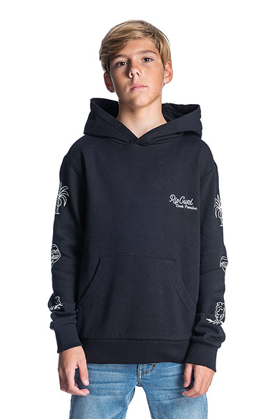 Толстовка кенгуру Rip Curl Paradise Hooded Fleece Black
