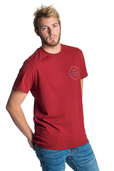 Футболка Rip Curl Authentic Red
