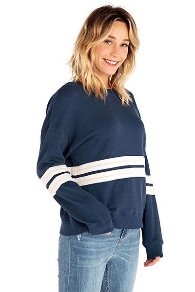 Свитер Rip Curl Horizon Crew Fleece Insignia Blue