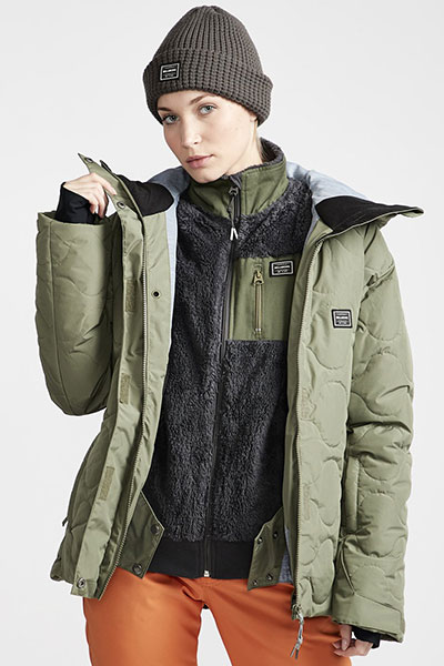 Куртка зимняя женская Billabong Bliss Olive