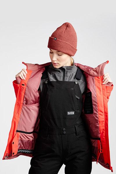Куртка сноубордическая женский Billabong Eclipse Sunset Red