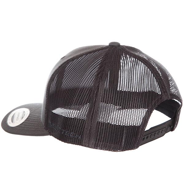 Бейсболка классическая Flexfit Charcoal 6606