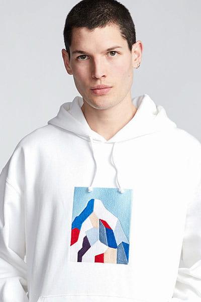 Толстовка кенгуру Element Sd Heavy Fleece Optic White