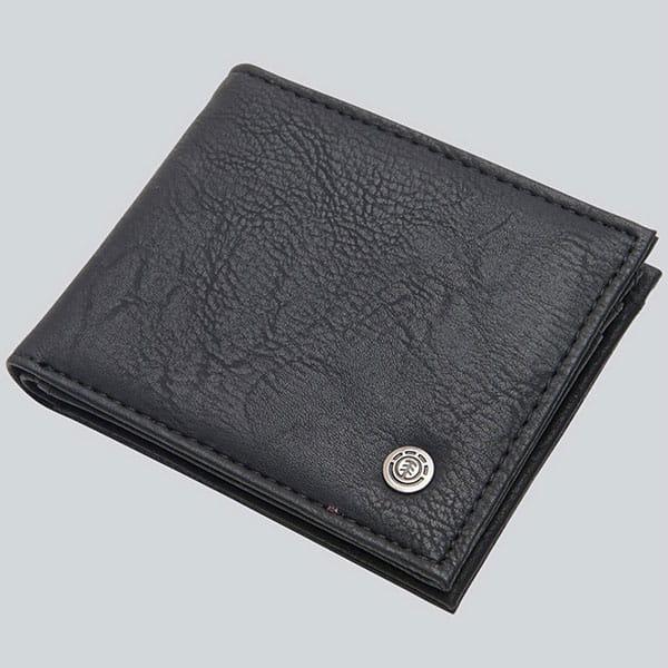 Кошелек Element Bowo Wallet Flint Black-12