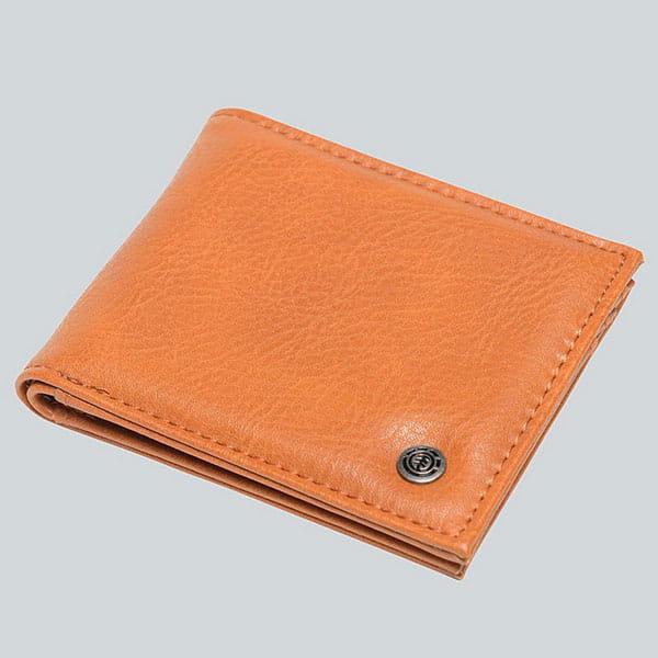 Кошелек Element Bowo Wallet Rust Brown-16