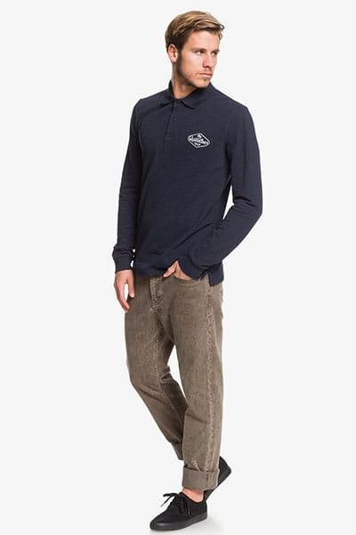 Рубашка QUIKSILVER поло с длинным рукавом Miz Kimitt
