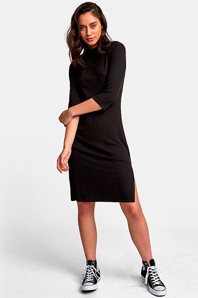 Платье женское RVCA Платье Cobra Dress Black
