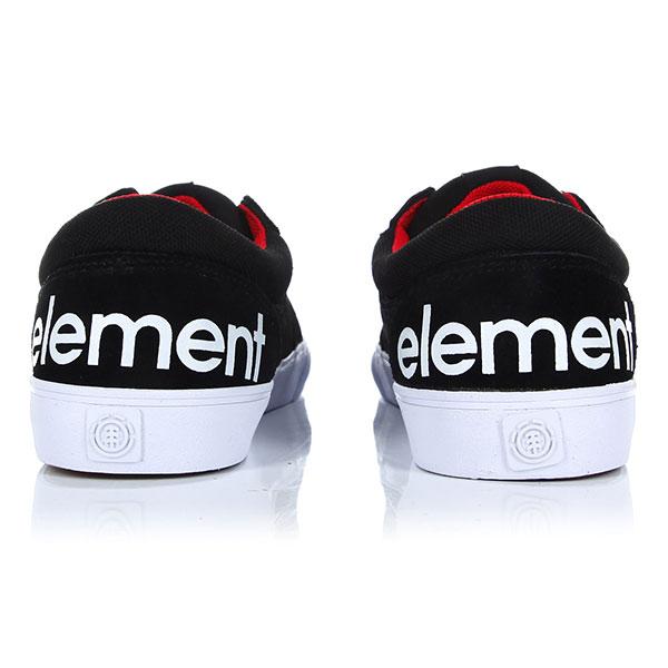 Кеды низкие Element Wasso Black-8839-22