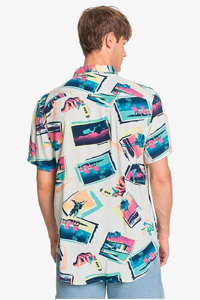 Рубашка QUIKSILVER B11vacancyshirt Snow White Vacancy