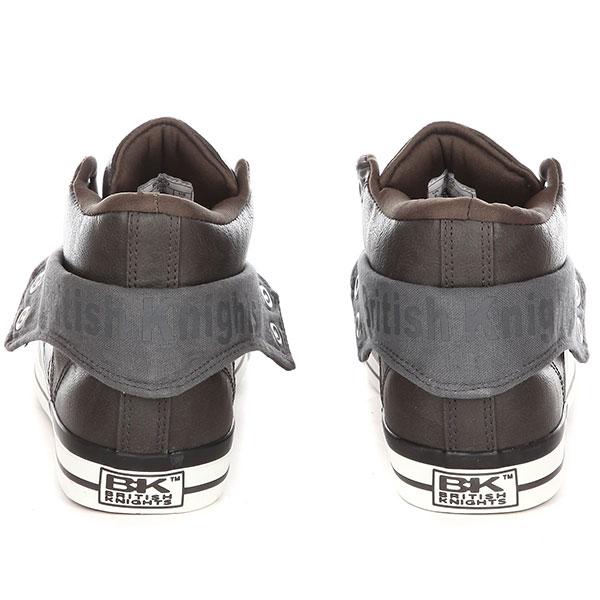 Кеды British Knights Roco B43-3701-12 Темно-серый 42