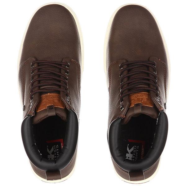 Кеды British Knights Wood B44-3616-01 Темно-коричневый 43